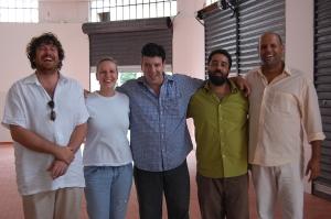 Leo Golla, Stefânia Gola, Eduardo Goldenberg, Fernando Szegeri e Deco, Sabiá, São Paulo, 14 de novembro de 2007