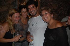Dani Pureza, Lina, Fefê, Mariazinha Goldenberg, Trapiche Gamboa, 08 de dezembro de 2007
