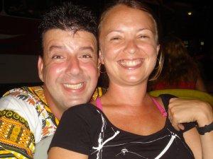 Eduardo Goldenberg e Débora Denizot, a Fumaça, na Lapa, Rio de Janeiro, 12 de janeiro de 2008