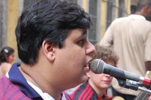 Gabriel Cavalcante, rua do Ouvidor, 08 de dezembro de 2007