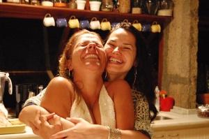 Dani e Betinha, 31 de dezembro de 2007, Santa Teresa