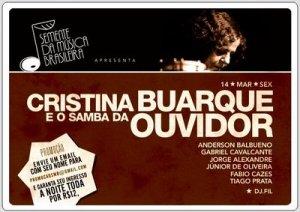 Cristina Buarque e o Samba da Ouvidor