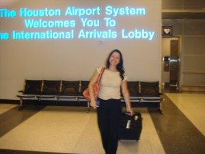 Betinha em Houston, EUA, 12 de abril de 2008