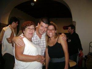 Nadja, Eduardo Goldenberg e Dani Sorriso Maracanã, Paço Imperial, 25 de março de 2008