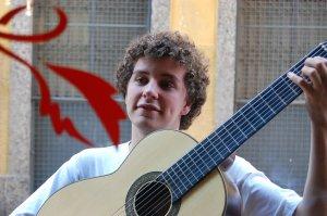 Tiago Prata, rua do Ouvidor em frente à livraria Folha Seca, 27 de outubro de 2007