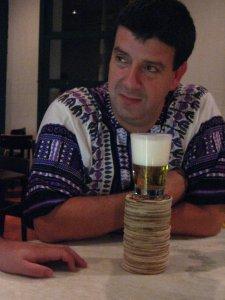 Eduardo Goldenberg, no Bar e Restaurante Sabiá, São Paulo, SP, 19 de abril de 2008 às 2h29min