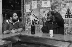 Fernando Szegeri e Berinjela, COLUMBINHA, Tijuca, 28 de setembro de 2008, 0h34min
