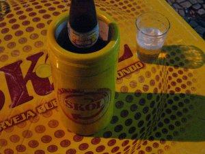 Brahma, às 19h12min do dia 22 de setembro de 2008, no CAFÉ E BAR ESTUDANTIL, na rua Haddock Lobo