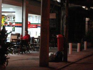 visão do ´bistrô´ inaugurado pelo casal Joaquim e Terezinha, na rua Almirante Gavião, na Tijuca