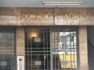 fachada do EDIFÍCIO MADRID, na rua do Matoso 207, na Tijuca