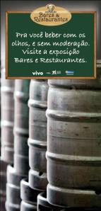 banner da exposição BARES E RESTAURANTES