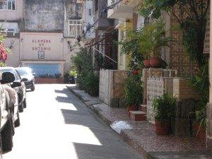 Alameda Santo Antônio, rua do Matoso, na Tijuca, foto de Eduardo Goldenberg