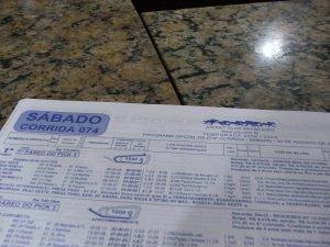 programa oficial da 74a corrida da temporada 2008/2009 do JOCKEY CLUB BRASILEIRO, de 30 de setembro de 2008