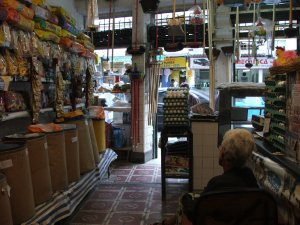 interior da CASA RIBEIRO AVES, rua do Matoso 38, na Tijuca, foto de Felipe Quintans