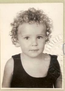 Tiago Prata aos 3 anos de idade