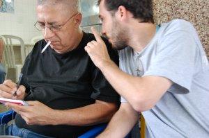 José Sergio Rocha e Bruno Ribeiro no CANTINHO DO CÉU, na Tijuca, 20 de novembro de 2008
