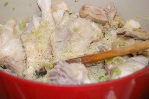 receita de canja de galinha, foto de Eduardo Goldenberg