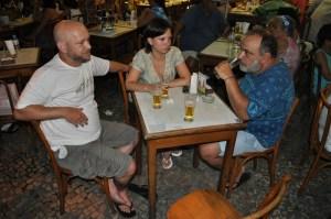 Luiz Antonio Simas, Candinha e Claudio Renato, PETISCO DA VILA, 27 de janeiro de 2010