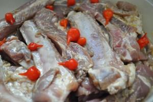 costelinha de porco