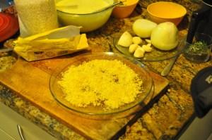 risotto de limão siciliano