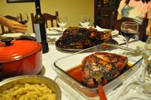 rali de carne de porco
