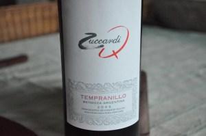 Zuccardi, Tempranillo, Mendoza, Argentina, 2005