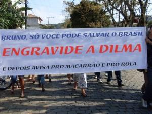 imagem divulgada por partidários do PSDB
