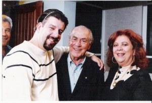 Eduardo Goldenberg, Leonel Brizola e Beth Carvalho, 2002