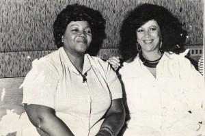 Dona Ivone Lara e Beth Carvalho, foto do acervo pessoal de Beth Carvalho