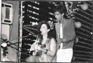 Beth Carvalho e Zeca Pagodinho, foto do acervo pessoal de Beth Carvalho