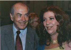 Leonel Brizola e Beth Carvalho, foto do acervo pessoal de Beth Carvalho