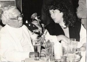 Nelson Cavaquinho e Beth Carvalho, foto do acervo pessoal de Beth Carvalho