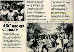 matéria publicada na revista VEJA de 30 de dezembro de 1980