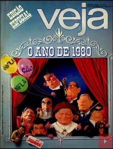 capa da edição da revista VEJA de 31 de dezembro de 1980