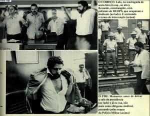 fotografias publicadas na revista VEJA de 28 de março de 1979