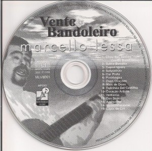 CD VENTO BANDOLEIRO, de MARCELO LESSA