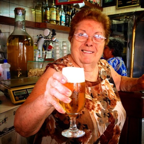 Dona Olívia em foto
